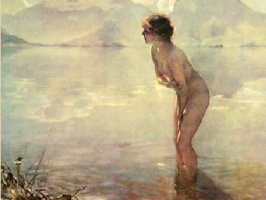 September Morn, by Paul Émile Chabas